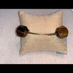 Tiger Eye Bangle Bracelet